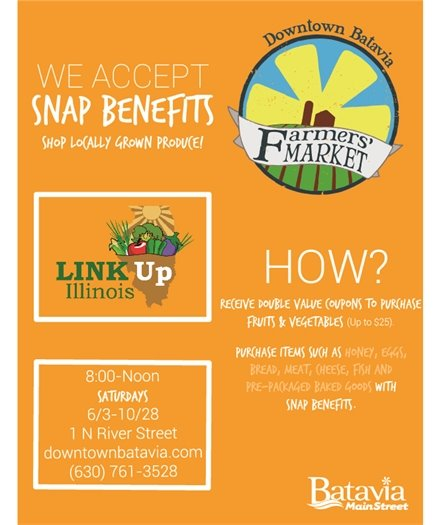 Snap Benefits flyer