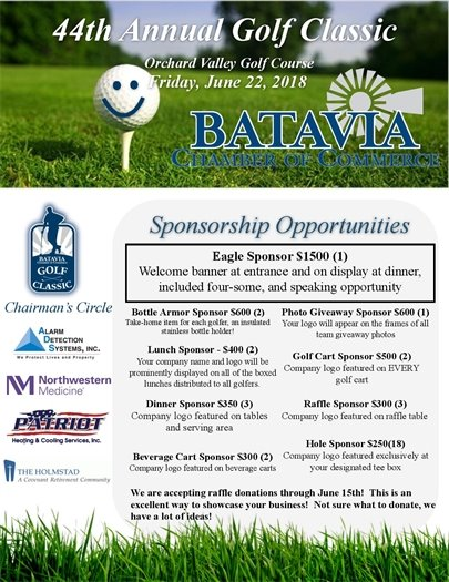 Chamber golf outing invite