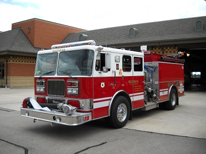 Fire Department Pumper Truck Engine 4