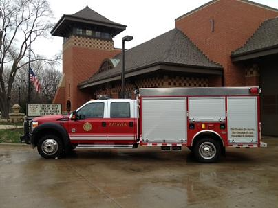 Special Equipment Fire Department Vehicle